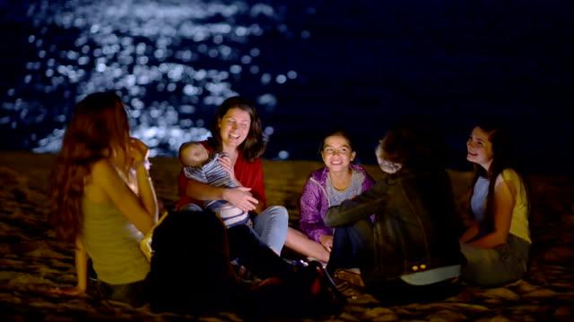 Night Life on Beach video