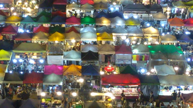 Night market video