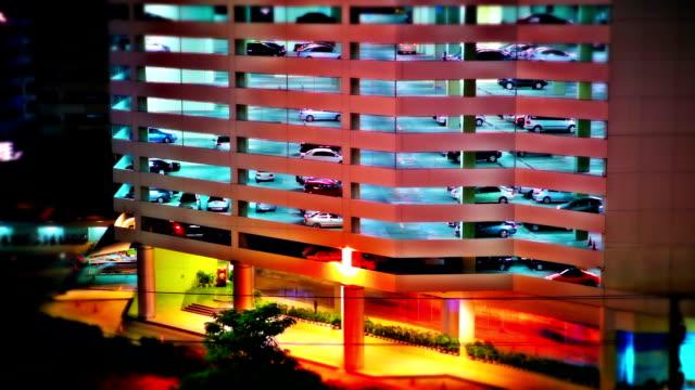 Night parking.\\ video