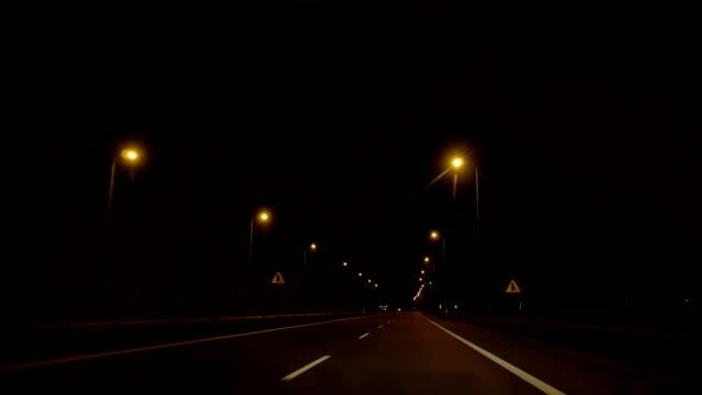 Night Road Refleсtors video