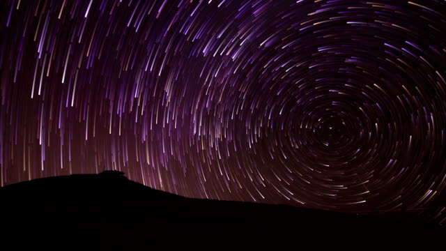 vídeos y material grabado en eventos de stock de night sky time lapse fondo rastro de estrella - estrella del norte