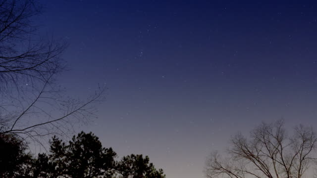 Night Sky Time Lapse Stars video