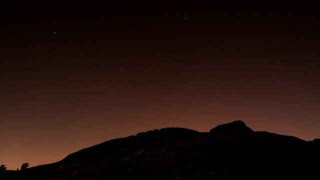 Night Sky TimeLapse video