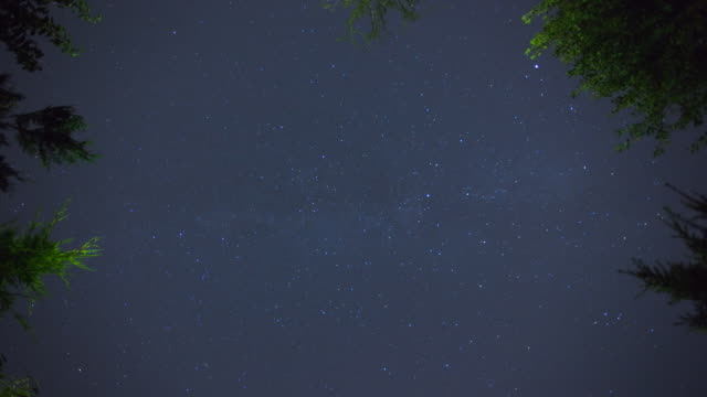 (Timelapse) Night Sky video