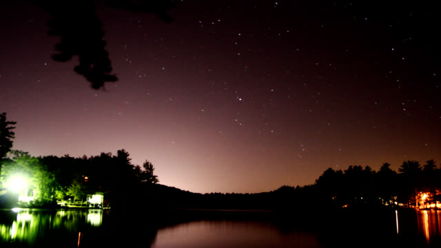Night Stars Lake video