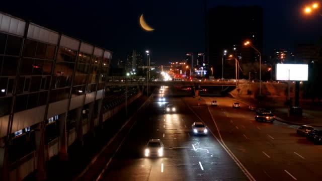 Night Subway  Station Traffic