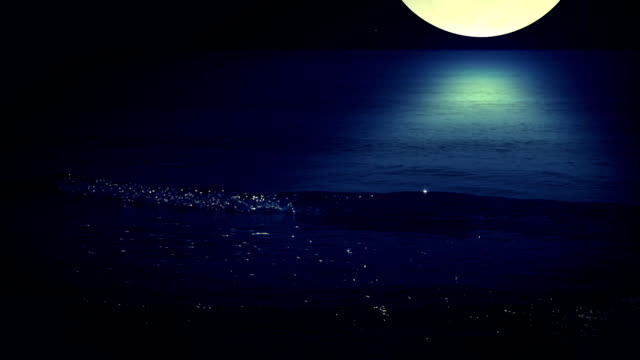 night surf. seamless - 可循環移動圖像 個影片檔及 b 捲影像