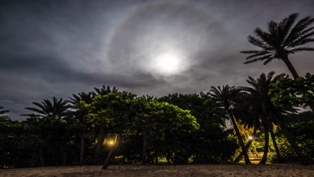 Night time lapse Night time lapse in Haleiwa Hawaii oahu stock videos & royalty-free footage