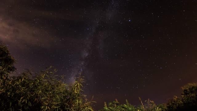 Night time lapse video