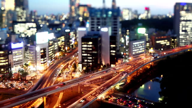 Night Time-Lapse Tokyo Japan video