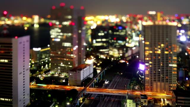 Night Time-Lapse Tokyo Japan video