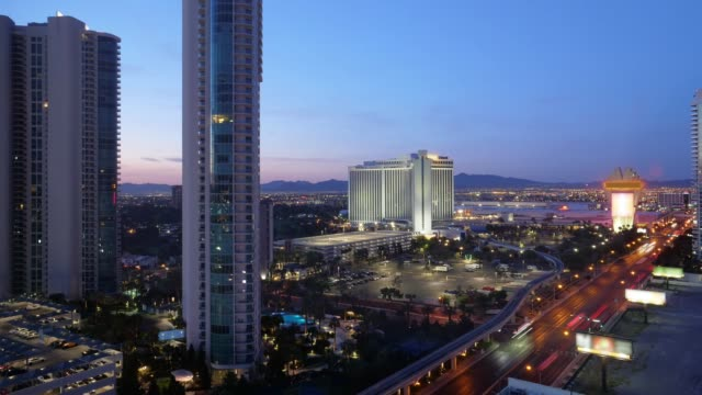 Night to Day Timelapse of Las Vegas Landscape video