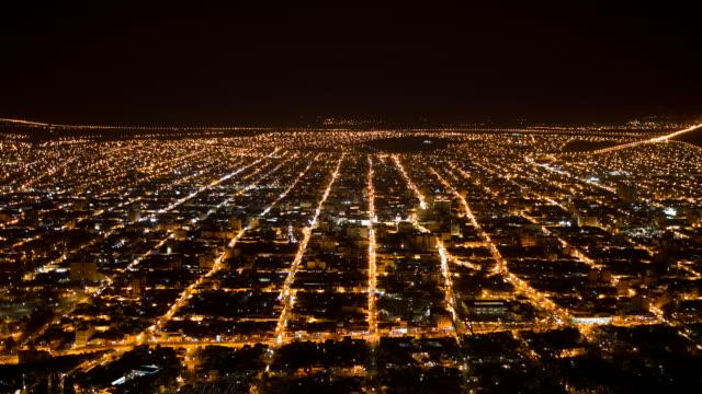 Night view of Salta video