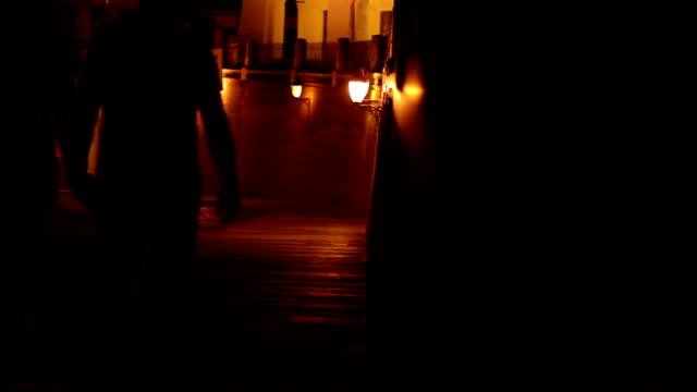 Night Walk on Downtown video