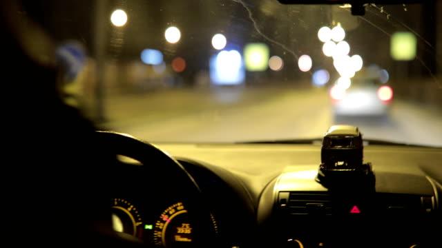 Nighttime Driving video