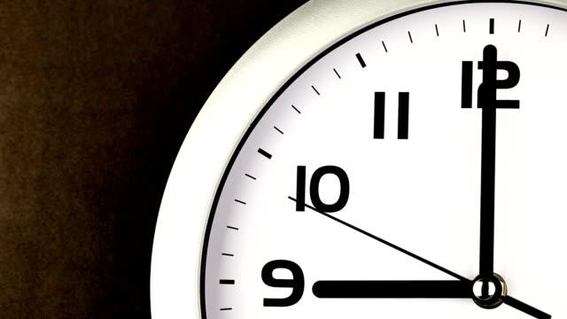 Nine O'clock Time - ticking clock video