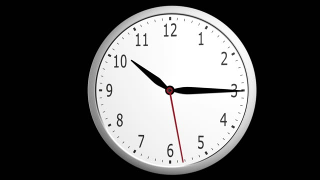 Nine to 5 oclock working hours timelapse Nine to 5 oclock working hours timelapse wall clock stock videos & royalty-free footage