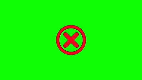 vidéos et rushes de pas d'icône avec écran vert - symbole