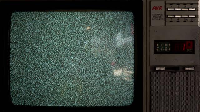 No Signal Old Vintage Television