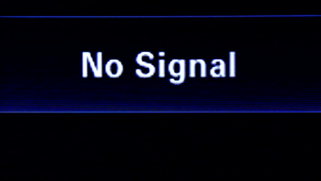 ingen signal - offline bildbanksvideor och videomaterial från bakom kulisserna