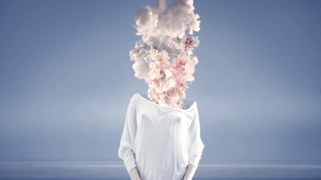 nohead 女性 - シュール点の映像素材/bロール