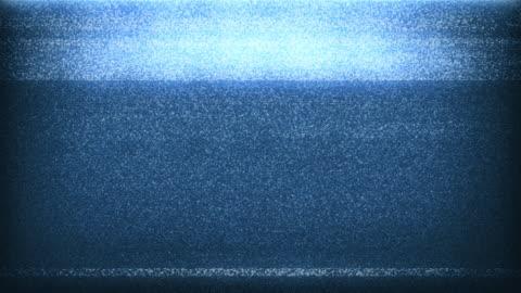 vidéos et rushes de bruit de tv 4k - blue (avec son) - tradition