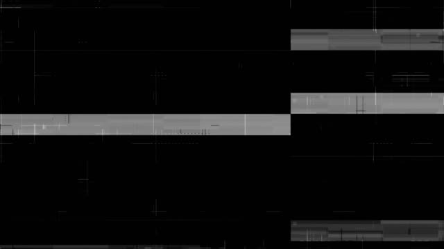 noise on analog tv screen vhs - проблемы стоковые видео и кадры b-roll