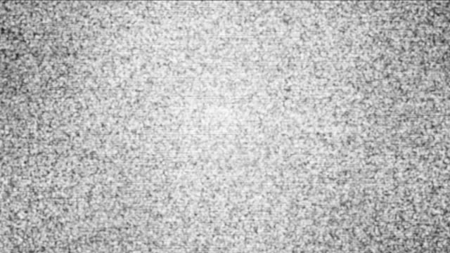 noise static flicker video