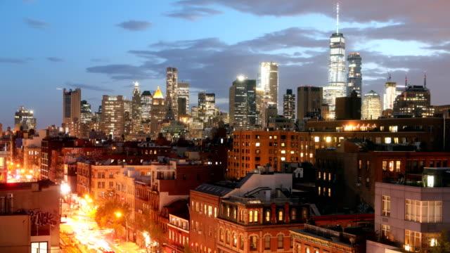 NoLiTa Downtown Manhattan Time Lapse video