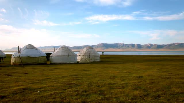 Nomadic Asian Yurt Camp video