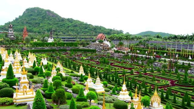 Nong Nooch tropical garden and mountain in Thailand video