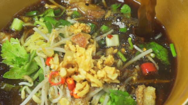 Noodles Soup (Super Slow Motion) video