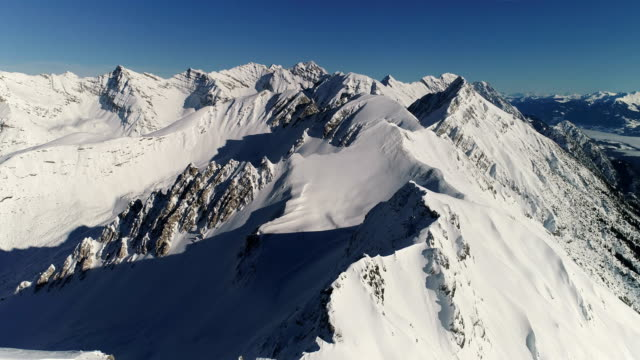 Nordkette, Innsbruck - Aerial View of the Alps