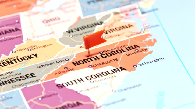 North Carolina from USA States