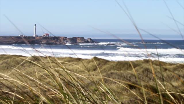 North Coast Point Arena Lighthouse Beach video