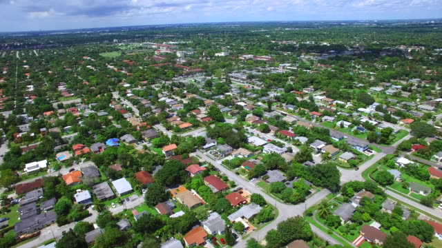 North Miami residential neighborhood video