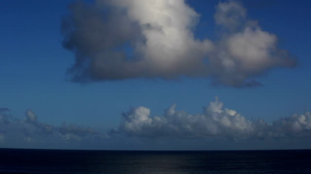 North Shore Hawaii Timelapse : Beautiful Clouds over The Ocean video
