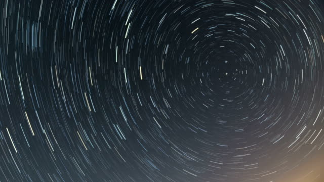 north star trails 6 hour time lapse video