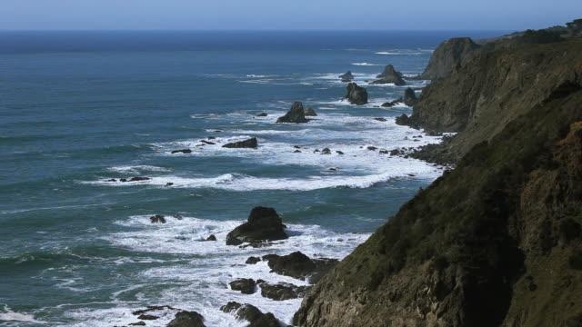 Northern California shoreline video