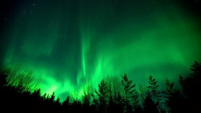 Northern Lights Aurora Borealis video