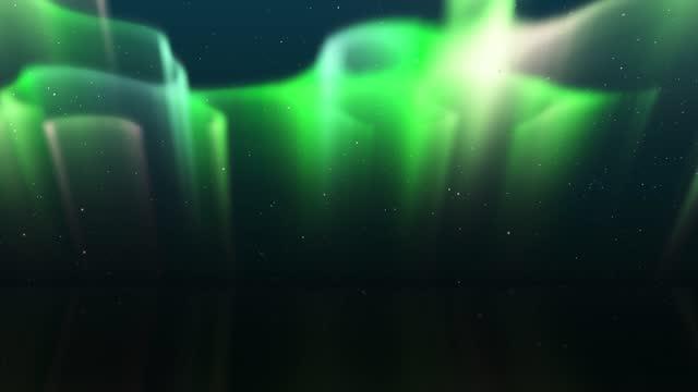 Northern Lights, Time Lapse Aurora Borealis, Aurora Helix, Winter, Nature, Space Background