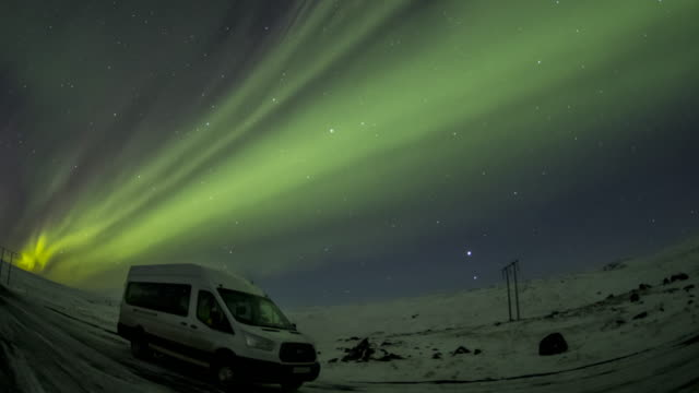 Northern lights video