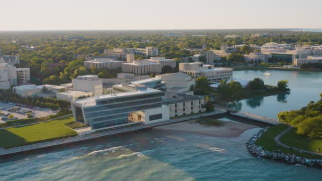 Northwestern University Campus Aerial Footage