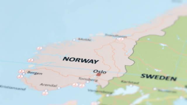 europa sverige på världskartan - sweden map bildbanksvideor och videomaterial från bakom kulisserna