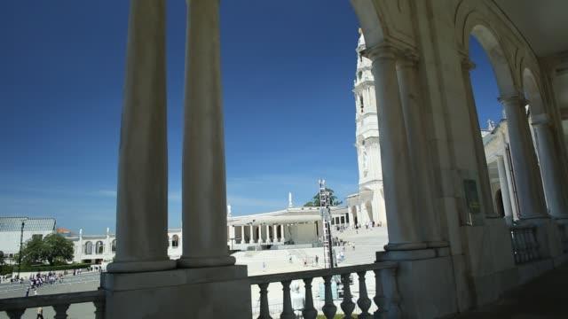 nossa senhora fatima - basilika katedral bildbanksvideor och videomaterial från bakom kulisserna