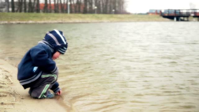 Nostalgic beach and a boy video