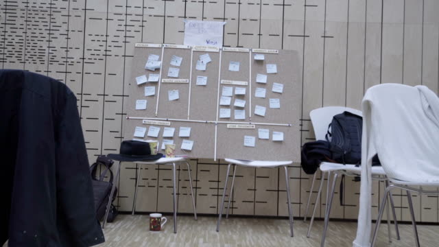 Notes on a board
