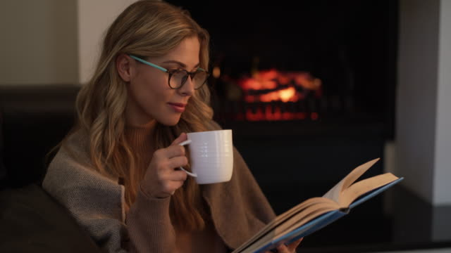 Nothing beats a cozy weekend in with a good book