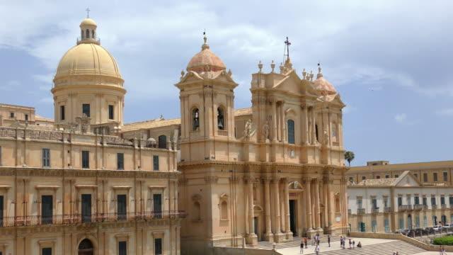 Noto Cathedral - Noto, Sicily, Italy video