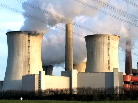 ntsc: power plant - attrezzatura energetica video stock e b–roll